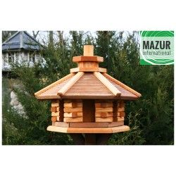 Wooden bird table KWN-L-OP