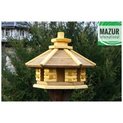 Wooden bird table KWN-L-SP