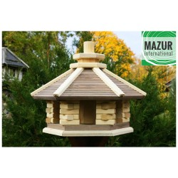 Wooden bird table KWN-L-NP