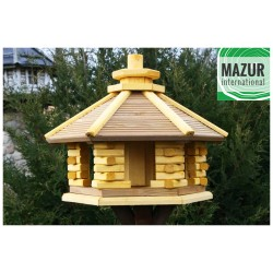 Wooden bird table KWN-XL-SP