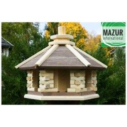 Wooden bird table KWN-XL-NP