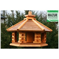 Wooden bird table KWN-XXL-OP