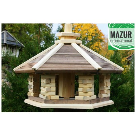 Wooden bird table KWN-XXL-NP