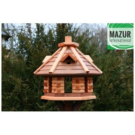 Wooden bird table KBN3-OP