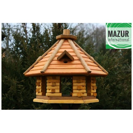 Wooden bird table KBN2-SPM