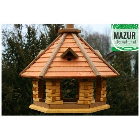 Wooden bird table KBN1-SPM